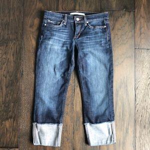 Joe's Jeans cuff cropped jeans